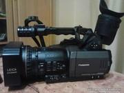 Продам профессиональную видеокамеру Panasonic ag-dvx 100be