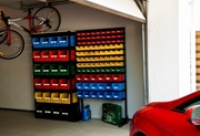 Торговый и складской стеллаж с ящиками