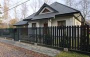 Забор из металлического штакетника в Могилёве