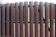 Заборы из металлического штакетника,  цена