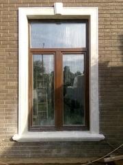 Мраморное обрамление окна