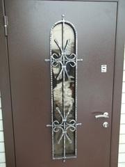 Входные двери утеплённые не стандарт от производителя с установкой.