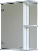 Шкаф с зеркальной дверцей.